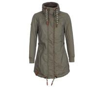 Female Jacket 'Zebratwist' oliv