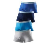 Hipster Authentic Underwear (4 Stck.) enzian / royalblau / himmelblau / graumeliert