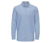 Lässiges Freizeithemd blau