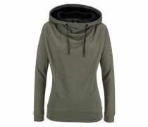 Sweatshirt 'Ribelon' dunkelgrau