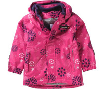 Baby Winterjacke Janna für Mädchen blau / pink / weiß