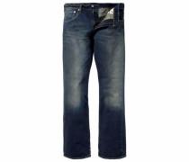 Bootcut-Jeans »527« blau