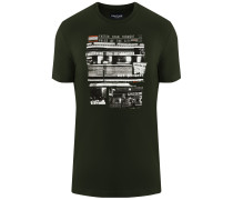 T-Shirt mit großem Front-Druck