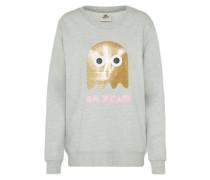 Sweatshirt 'space Ghost' gold / grau