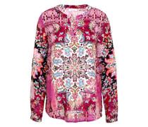Bluse 'Flowers' mischfarben / pink