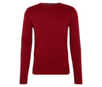 Pullover 'basic crew-neck sweater' rot