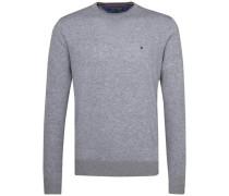 Pullover 'plaited CTN Silk C-Nk CF' grau