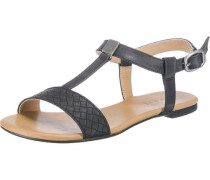 Pepe Sandaletten schwarz / silber