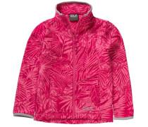 Fleecejacke 'jungle' für Mädchen pink