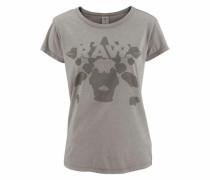 T-Shirt 'Eltoa' braun / grau