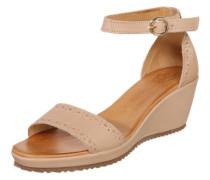 Keil-Sandalette 'Menina' nude