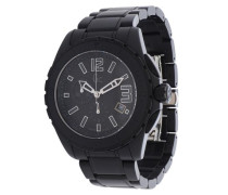 Armbanduhr Sport Class XXL Chronograph schwarz / silber