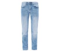 Close Slim: Helle Stretch-Jeans hellblau
