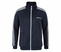 Trainingsjacke 'track Top' ultramarinblau / weiß