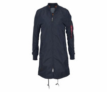 Bomberjacke in Longform