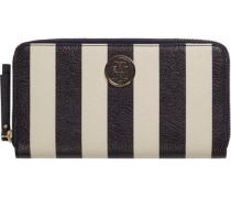 Portemonnaie »Effortless Novelty LRG ZA Wallet Stripe« schwarz / weiß
