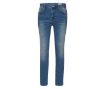 Slim Jeans 'Mario 1392' blau