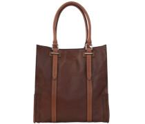 Ascott Handtasche Leder 32 cm braun