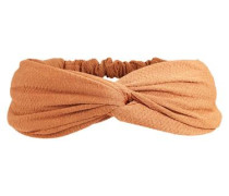 Haarband Krepp apricot
