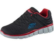 Sneaker blau / hellrot / schwarz