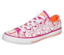 'Chuck Taylor All Star OX' Sneaker Kinder pink