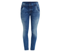 Tapered Jeans 'Hopsy' blau