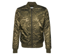 Jacke im Blouson-Stil dunkelgrün