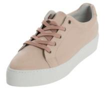Leder-Sneaker altrosa