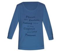 Shirt 'lovely Dots' blue denim