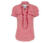 Bluse 'Minu' rot / weiß