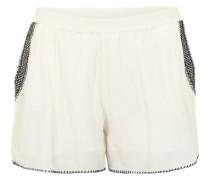 Shorts 'Vilomano' rosé / schwarz / weiß
