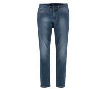 5-Pocket-Jeans 'Slimfit mit komfortabler Leibhöhe' blau
