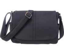 City Bag im Vintage-Look blau