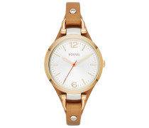 "Armbanduhr ""georgia Es3565"" braun / gold"