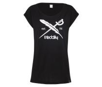 T-Shirt 'The Flag' schwarz