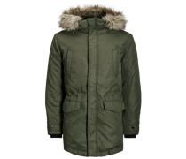 Klassische Jacke khaki