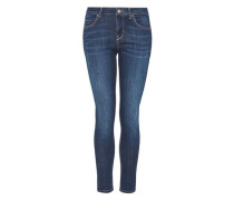 Skinny Jeans mit dunkeler Waschung