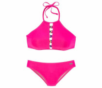 Bustier-Bikini pink