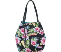Mila Hawaii Shopper mischfarben