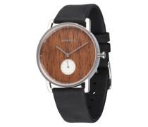 Armbanduhr 'Frida' braun / schwarz / silber
