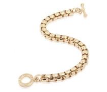 Round venice chain bracelet gold