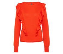 Feinstrickpullover 'Grace' orangerot