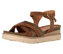 Sandale hellbraun / mischfarben