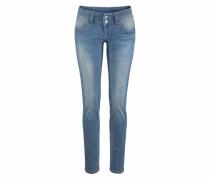 Slim-fit-Jeans 'zena' blue denim