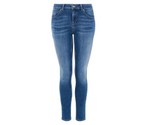 Basic Skinny Jeans blue denim