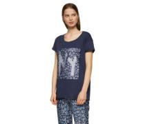 BOSS ORANGE T-Shirt 'Talmaya' blau