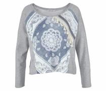 Sweatshirt graumeliert / mischfarben