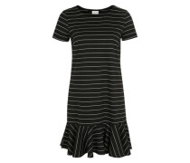 Kleid 'virufflelow' schwarz