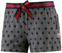 Shorts grau / rot