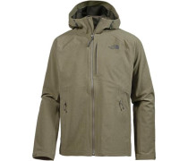 'Apex Flex' Outdoorjacke oliv